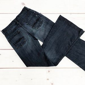 7 for all Mankind | Bell Bottom Dark Wash Jeans